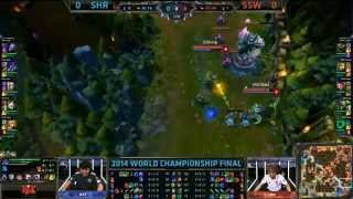 Royal Club vs Samsung White - Final - World Championship 2014 - Jogo 1 [PT-BR]