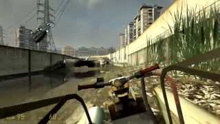 Half-Life 2 (PC) walkthrough - Water Hazard