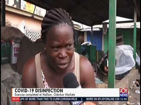 Updates on Covid-19 Disinfection - Joy News Today (23-3-20)