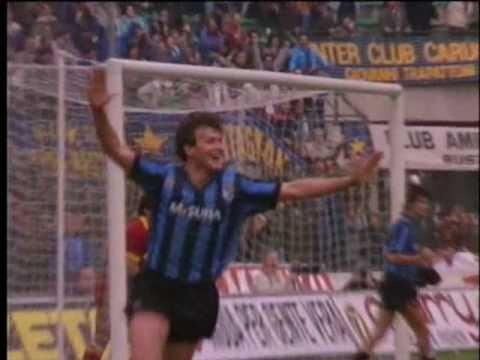 Aldo Serena al INTER (1988-1989)