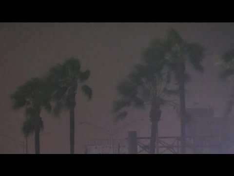 Dangerous road conditions on both Florida coasts