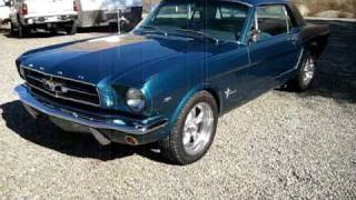 1965 Blue Ford Mustang Coupe Walkaround