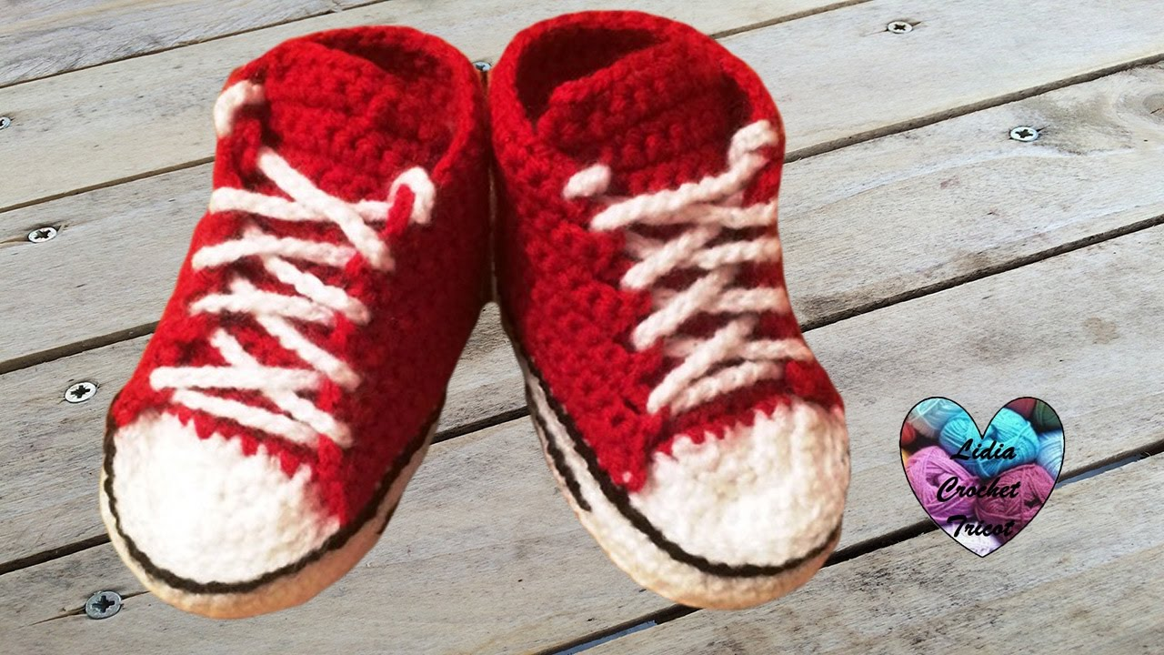 Converse Chaussures Bébé Crochet 22 Converse All Stars Baby Shoes