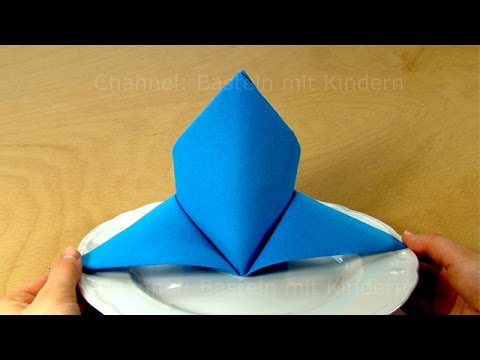Napkin folding tutorial youtube - Pliage serviette facile et rapide ...