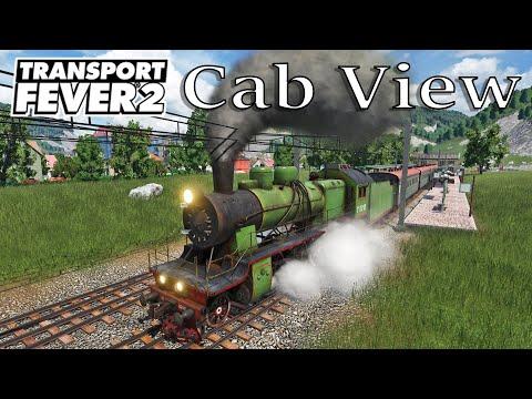 Transport Fever 2 - Cab View / First Person View / EU 33 / Russian Class SU |