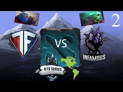 Freedom vs Infamous - BTS NA #4 - G2