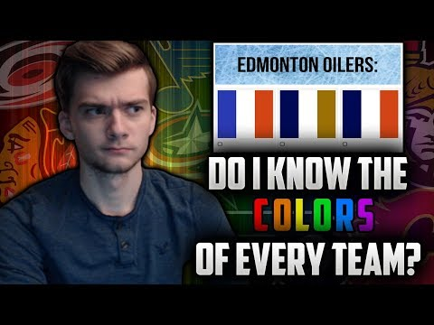Can I Match All The NHL Teams To Their Team Colors?