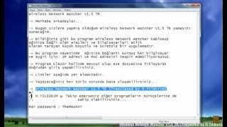 Wireless Network Watcher v1.5 TR (Translated by H.Yıldırım)