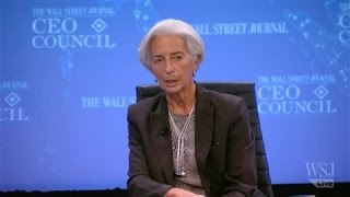 Christine Lagarde the Impact of Falling Oil Prices