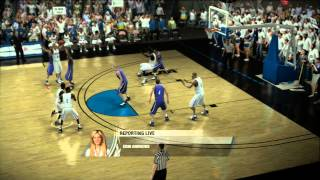 NCAA Basketball 09 - Full Game - XBOX360