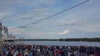 День города Барнаула 2015. Авиашоу - Стрижи [Видео №1](