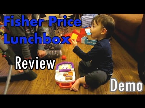 Fisher Price Lunchbox Review (English Subs)