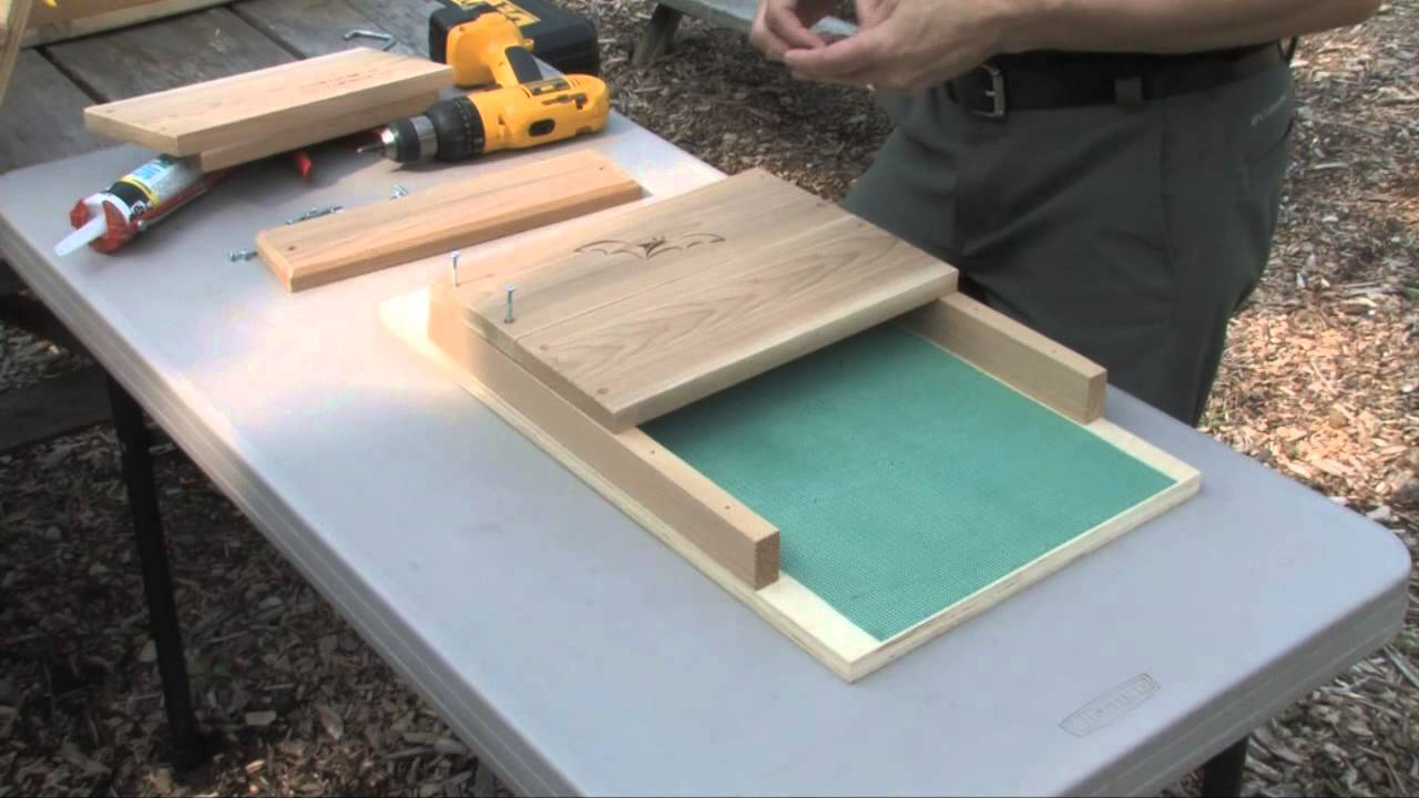how to build a bat house - youtube