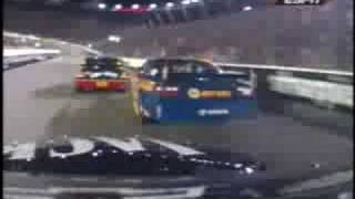 Michael Waltrip is the worst driver in Nascar period. Bristol 2008