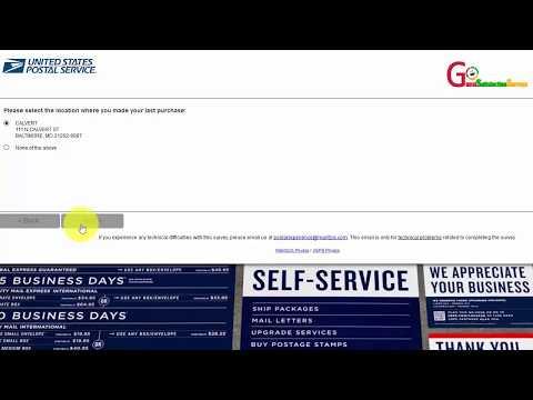 U.S. Postal Service Customer Experience Survey