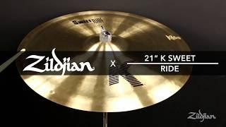 Zildjian 21'' K Sweet Ride