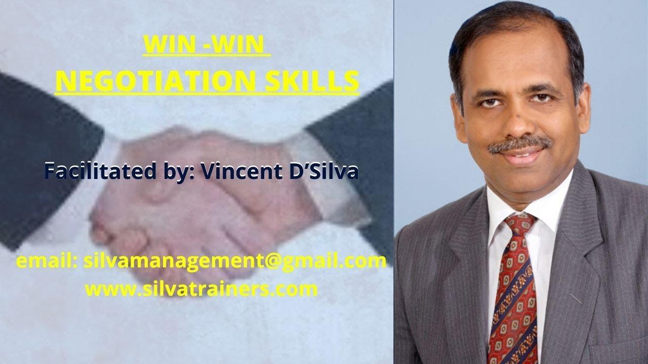 Download Win-Win Negotiation Skills | Vincent D'Silva