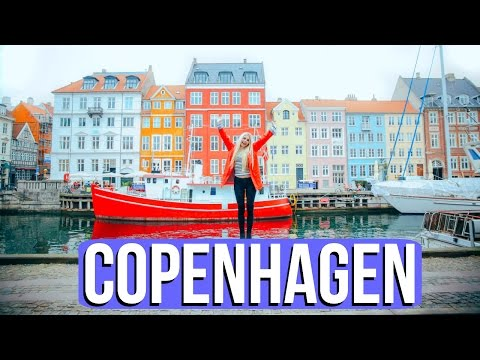 NYHAVN & BIKE RIDING IN COPENHAGEN!