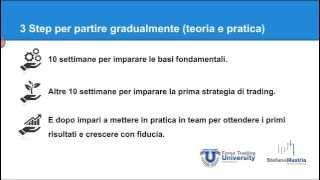 Forex Trading University, webinar introduttivo