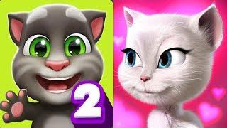 My Talking Tom 2 vs My Talking Angela Gameplay #16