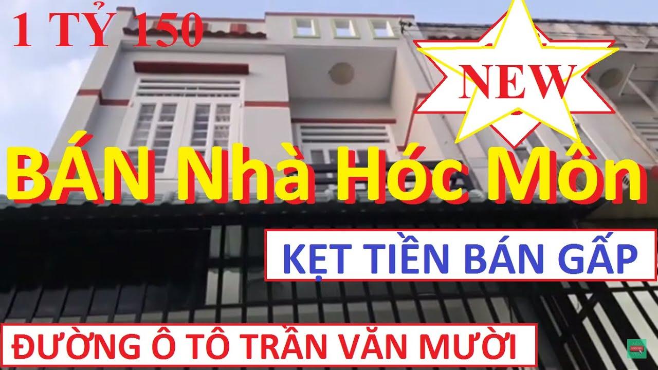 Bán Nhà Hóc Môn giá 1 tỷ 150 triệu đúc 1 trệt 1 lầu