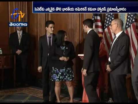 US Congress | Senator Kamala Harris, 4 other Indian Americans take oath as members