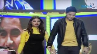 Alden Richards SURPRISE BIRTHDAY GIFTS FOR MAINE MENDOZA - March 5, 2016