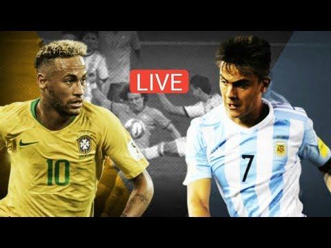 Brazil vs Argentina International Friendly Live Match HD 10/16/2018