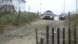 Insane Hurricane Sandy Video from the NC Outer Banks