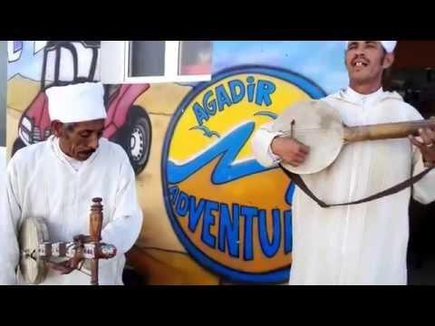 Agadir Adventure : Belle musique berbère de la région du Souss
