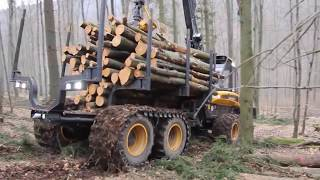 Modern technologies for logging and logging technology (Машины для заготовки дров)