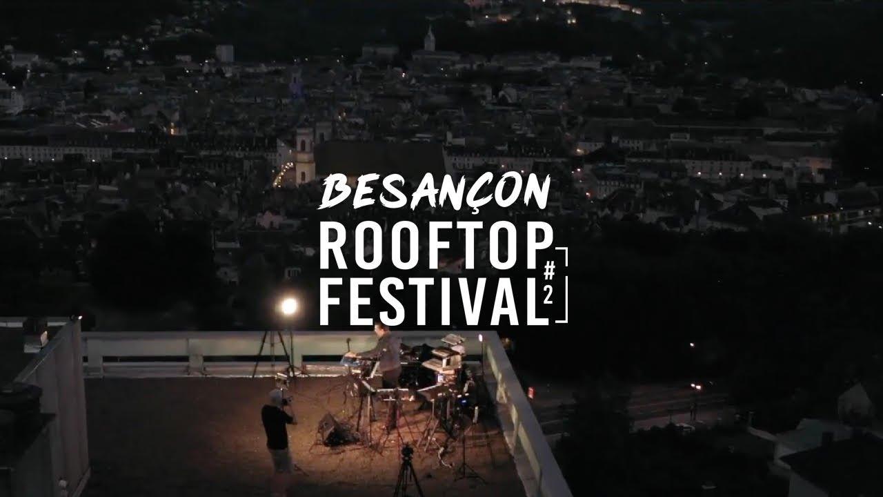 Arnaud Rebotini - Live @ Besançon Rooftop Festival 2020