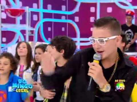 Domingo Legal (01/12/13) - MC Gui traz o funk para o palco do Domingo Legal