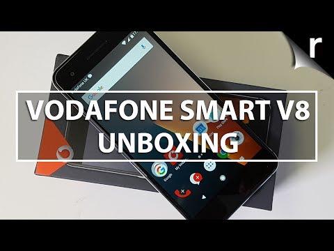 Vodafone Smart V8 Unboxing & Hands-on Review