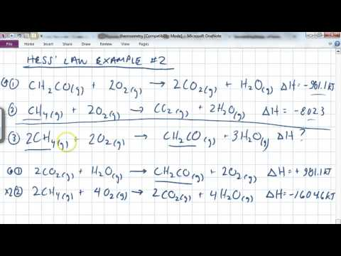 Thermochem part 2