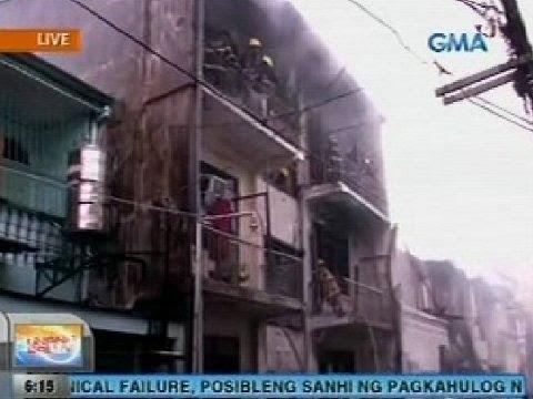 UB: Residential area sa Sampaloc, Manila, nasusunog