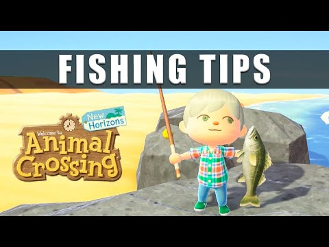 Animal Crossing New Horizons fishing and how to fish