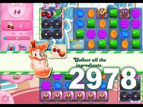 Candy Crush Saga Level 2978 (No boosters)
