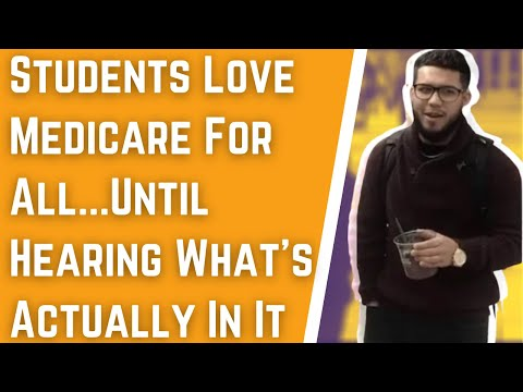 Preston Scott - WATCH! Students LOVE Medicare-For-All Until...