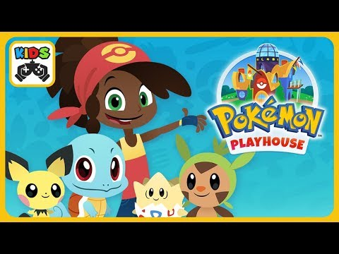 Pokémon Playhouse * Care, food and songs for Pokemons Pets * Cartoon games for Kids * iOS | Android