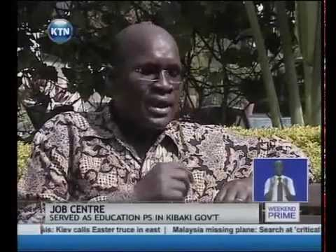 KTN Job centre: My Big Break with Prof. James Ole.Kiyiapi