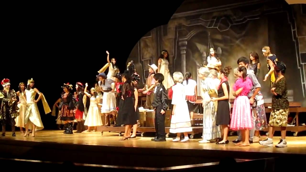 """TAS 2010 Middle School Play - """"Night at the Wax Museum ..."""