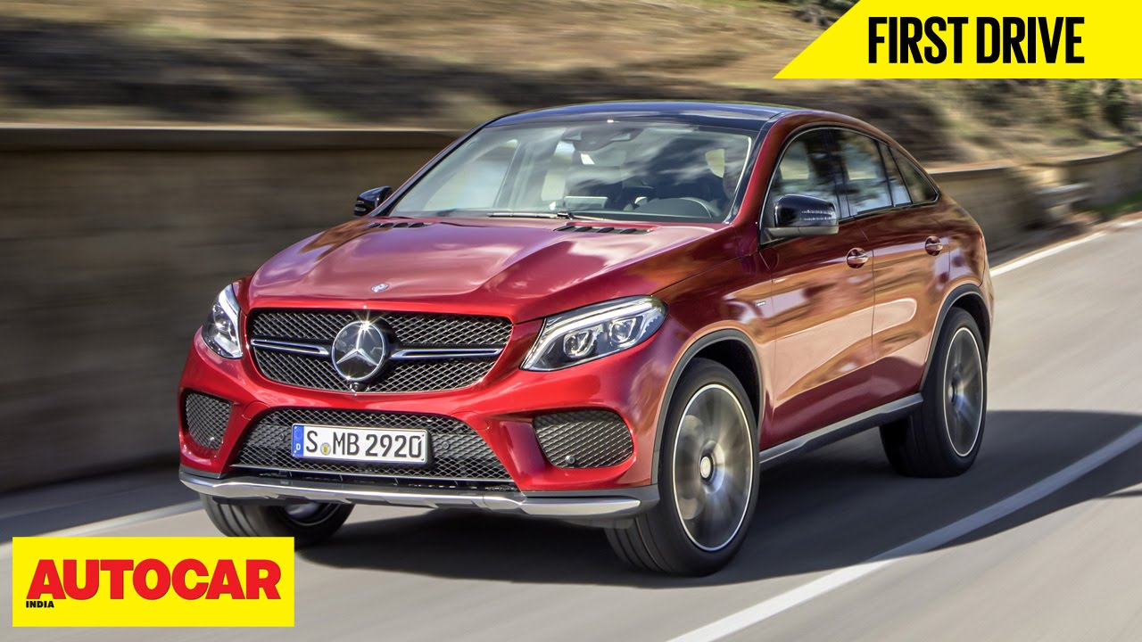 Mercedes Benz Gle Coupe First Drive Autocar India Youtube