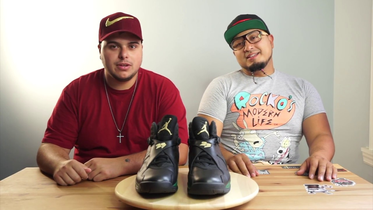 reputable site c2cb7 1ff26 The Custom Shoe Review Episode 1  Gucci Jordan 8