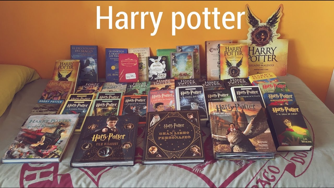 Resultado de imagen de harry potter todosl os libros