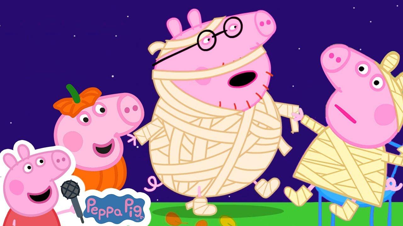 Peppa Pig is a Vampire Song | Halloween Songs for Kids | More Nursery Rhymes & Kids Songs