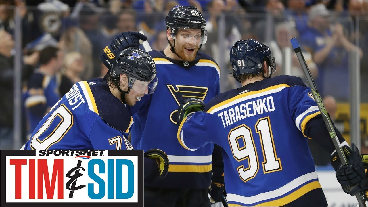 Do Blues Have What It Takes To Win Stanley Cup? | Tim and Sid
