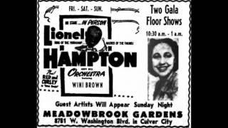 """Wini Brown    """"Gone Again""""    1947"""