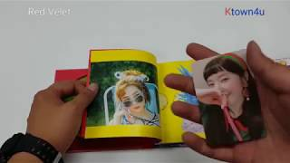 [Ktown4u Unboxing]: Red Velvet - Summer Mini Album [The Red Summer]
