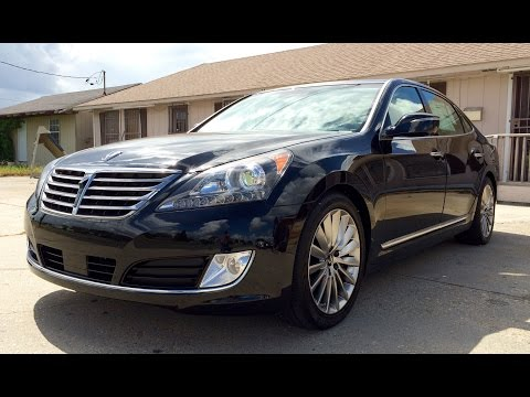 2015 Hyundai Equus Ultimate Full Review Exhaust Test Drive Start Up